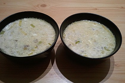 Hackfleisch-Lauch-Suppe 52