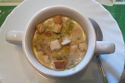 Hackfleisch-Lauch-Suppe 37