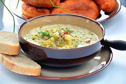 Hackfleisch-Lauch-Suppe 0