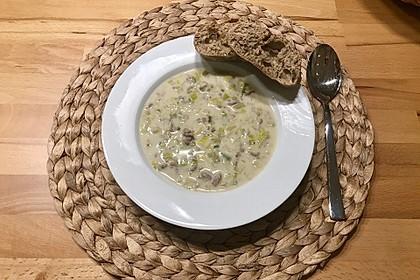 Hackfleisch-Lauch-Suppe 5