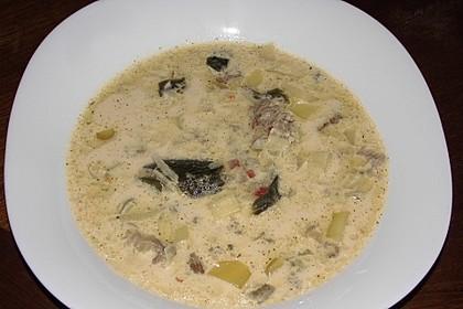 Hackfleisch-Lauch-Suppe 21