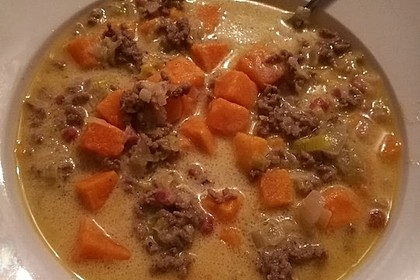 Hackfleisch-Lauch-Suppe 25