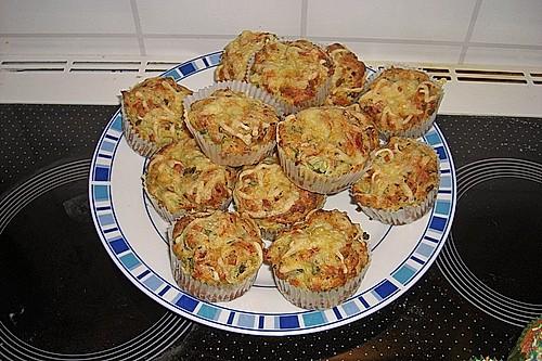 lauch schinken muffins rezept mit bild von anjajessica. Black Bedroom Furniture Sets. Home Design Ideas