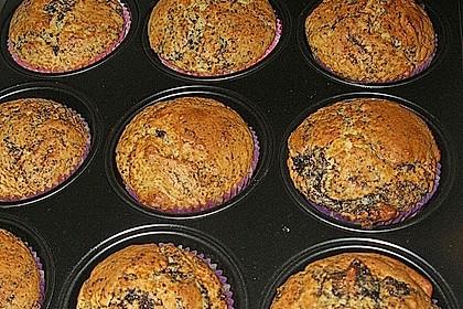 Zitronen - Mohn - Muffins 1