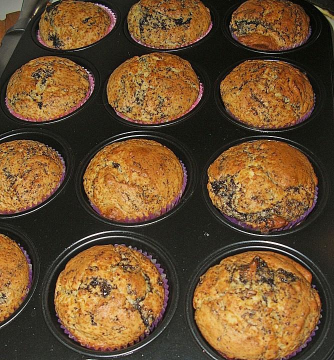 zitronen mohn muffins rezept mit bild von always. Black Bedroom Furniture Sets. Home Design Ideas