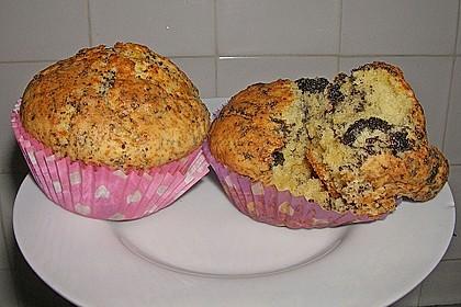 Zitronen - Mohn - Muffins 2