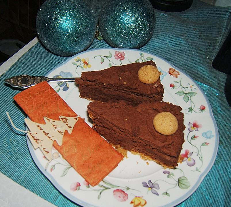 schoko torte mit amaretti rezept mit bild von flowerbomb. Black Bedroom Furniture Sets. Home Design Ideas