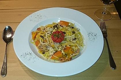 Kürbis - Pasta 7