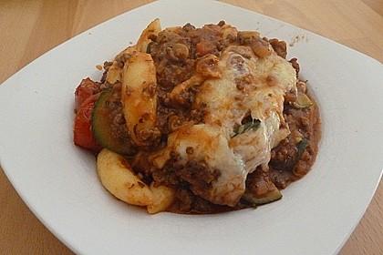 Schupfnudel - Hackfleisch - Auflauf mit Gemüse 2