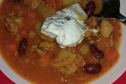 Hack-Gemüse-Suppe à la Martin Liebe 27