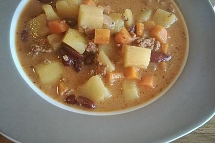 Hack-Gemüse-Suppe à la Martin Liebe 16