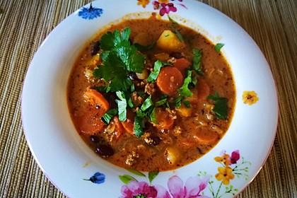 Hack-Gemüse-Suppe à la Martin Liebe