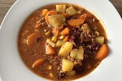 Hack-Gemüse-Suppe à la Martin Liebe 4