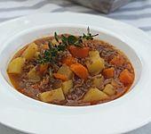Hack-Gemüse-Suppe à la Martin Liebe (Bild)