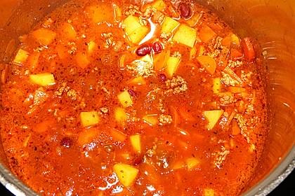 Hack-Gemüse-Suppe à la Martin Liebe 25
