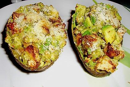 Avocado überbacken 2