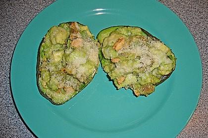 Avocado überbacken 1