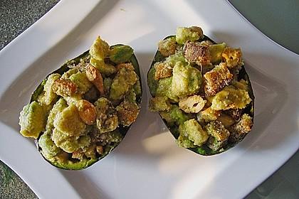 Avocado überbacken