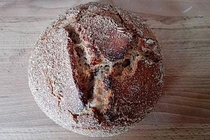 No - Knead - Bread mit Frischhefe 36