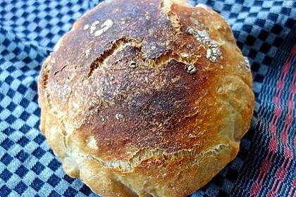 No - Knead - Bread mit Frischhefe 19