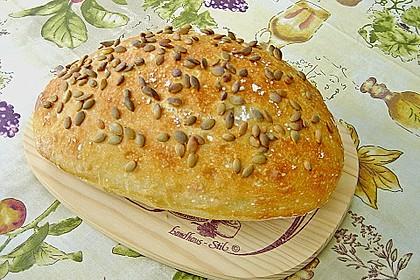 No - Knead - Bread mit Frischhefe 9