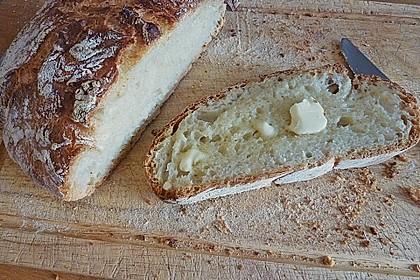 No - Knead - Bread mit Frischhefe 8