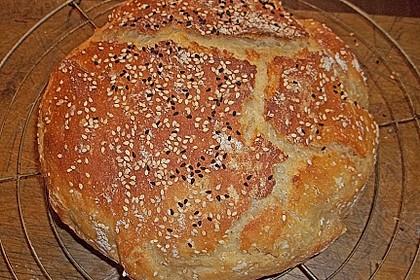 No - Knead - Bread mit Frischhefe 24