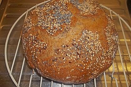 No - Knead - Bread mit Frischhefe 11
