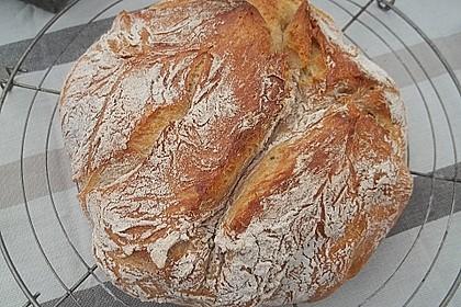 No - Knead - Bread mit Frischhefe 3