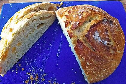 No - Knead - Bread mit Frischhefe 6