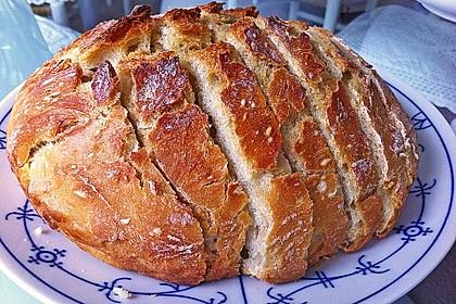 No - Knead - Bread mit Frischhefe 1