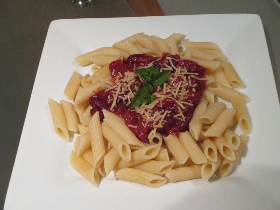 spaghetti mit bohnen speck so e rezept mit bild. Black Bedroom Furniture Sets. Home Design Ideas
