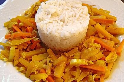 Steckrüben - Curry