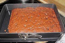 Rum - Pflaumen - Brownies mit Pinienkernen von Sarah