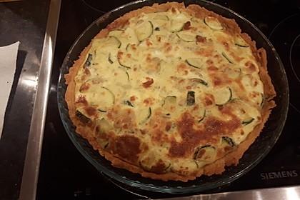 Schafskäse - Zucchini - Quiche 139