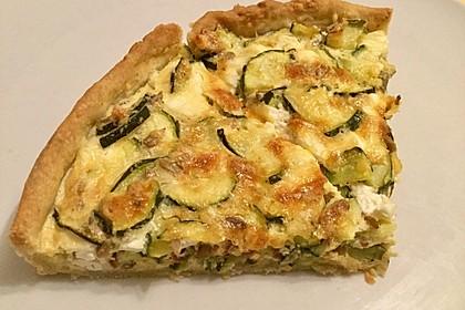 Schafskäse - Zucchini - Quiche 84