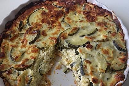 Schafskäse - Zucchini - Quiche 141