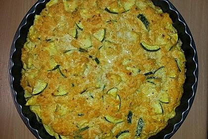 Schafskäse - Zucchini - Quiche 155