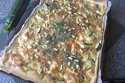 Schafskäse - Zucchini - Quiche 118