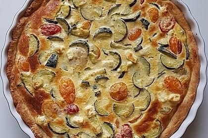 Schafskäse - Zucchini - Quiche 102