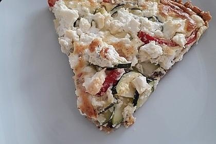 Schafskäse - Zucchini - Quiche 146