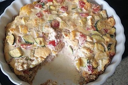 Schafskäse - Zucchini - Quiche 154