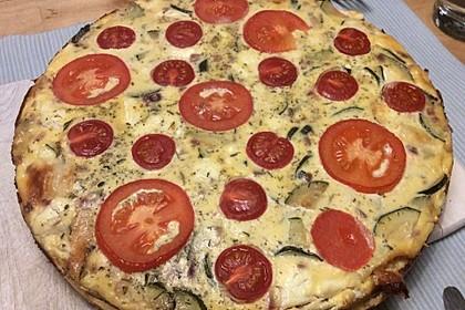 Schafskäse - Zucchini - Quiche 50