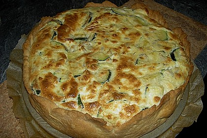 Schafskäse - Zucchini - Quiche 33