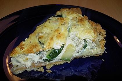 Schafskäse - Zucchini - Quiche 61