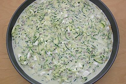 Schafskäse - Zucchini - Quiche 86
