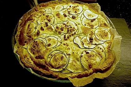 Schafskäse - Zucchini - Quiche 119