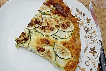 Schafskäse - Zucchini - Quiche 55