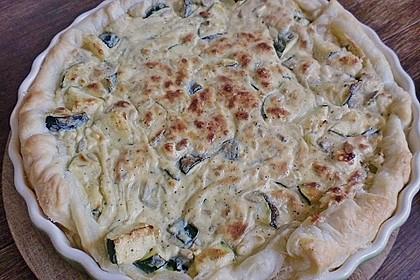 Schafskäse - Zucchini - Quiche 89