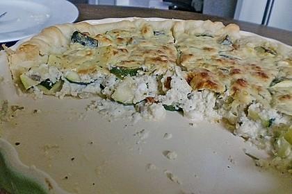 Schafskäse - Zucchini - Quiche 124